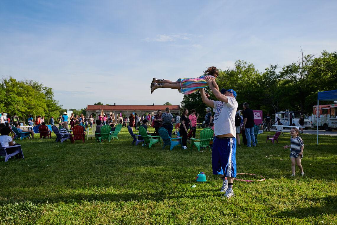 fdr park celebration