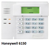 HONEYWELL 6150 security system from Independent Alarm