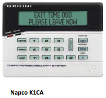 Napco K1CA Security System from Independent Alarm in Pennsauken NJ